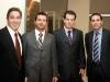 Trace Hanlon (brand manager for Rémy Martin); Fernando Zerillo (Dolce Publishing Inc.); Marco Federico; Robert Vacca (director of marketing for Ferrari Maserati of Ontario).