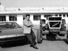 Ferruccio Lamborghini in his younger years, amidst two opposite business successes.