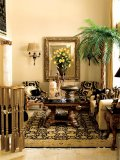 Slip through the ages as you settle into this regal space, with lavish accessories imported from around the world.