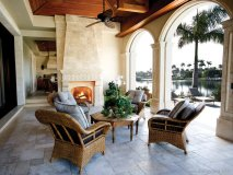 Bringing the indoors outside, Marina specializes at creating soft and comfortably chic spaces for you to enjoy.