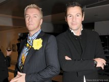 Justin Ryan and Colin McAllister (hosts of HGTV's Colin & Justin's Home Heist)
