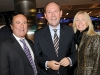 Gary Scholl (chairman of POI Business Interiors), Marcus Breitschwerdt (president and CEO of Mercedes-Benz Canada) and Julie Anne Smedley (president POI Business Interiors)