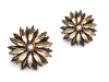 Add these lovely fawn-tinted crystal hairpins to any ensemble to add the perfect amount  of glamour.