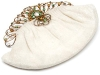 Go from day-to-night with this charming vintage bag. A fabulous find from Carole Tanenbaum's extensive collection, the ornate purse dates back to the 1940s.  www.caroletanenbaum.com