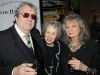 authors Barry Callaghan, Margaret Atwood and artist Claire Weissman-Wilks