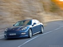 The Panamera is Porsche's first completely new model since the introduction of the Cayenne.