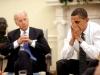 President Barack Obama and Vice President Joe Biden in the Oval Office.