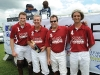Team Genovese in the Polo for Heart winner's circle.