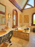 The Castle on the Lake master bathroom