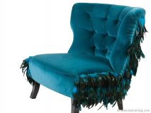 Take a seat on this fabulous aquatic-inspired armchair by Tshuka.