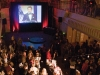 Guests watch the Giller awards ceremony.