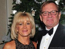 Lydia Sharpe (president of Herbie Fund) and her husband, Peter Sharpe (president and CEO Cadillac Fairview)