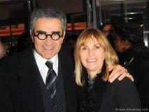 actor-comedian Eugene Levy with his wife, Deborah Devine