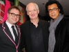 Singer Steven Page, actor/comedian Colin Mochrie, and singer Andy Kim