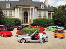 An eclectic collection of cars expresses Jim Williams' ever-evolving taste, his feelings and his moods.