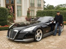 """The Maybach Exelero, a one-off $14 million supercar, made its Canadian debut at Jim Williams' home. """"This is one of those cars where you say: 'I don't know if I like it,' and then before you know it you're going 'Wow, I love this car.'"""""""