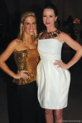Sisters-in-law Vanessa Miedler Mulroney and Jessica Mulroney.