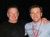 Venture capitalist Robert Herjavec with actor / comedian, Robin Williams.