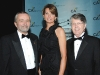 Carol Wilding (president & CEO Board of Trade) with Rod Barr and Gerry Mills (ICAO, platinum sponsor)