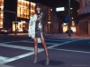 Channel the mystical allure of a full moon in silver's many shades, from matte charcoal to a velvet, icy ash / Dress, Adelyn Rae; Jacket, Free Press