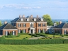 The main lot includes 86 acres of manicured land, formal gardens, fountains, an outdoor pool and ponds