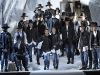 DSquared2 sends its edgy fall/winter 2011 collection down the runway at Milano Moda Uomo in Milan, Italy.