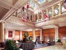 Enter King Edward Hotel's regal lobby.