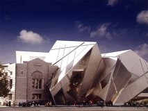 The Royal Ontario Museum's Michael Lee-Chin Crystal.
