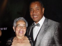 Mother and son: Hyacinth  Gloria Chen and Michael Lee-Chin.