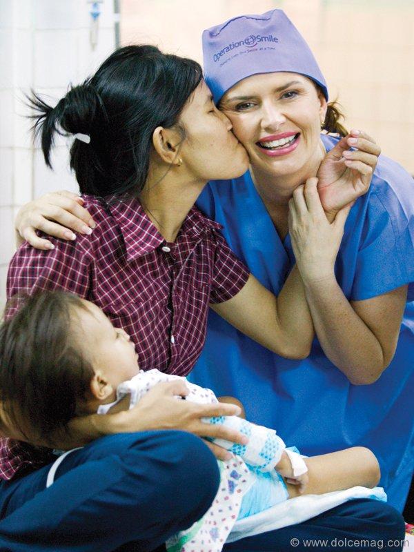 Roma Downey operation smile