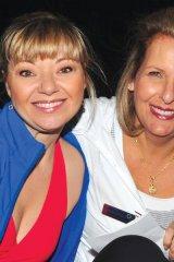 Amber Payie (emcee), and Barbara Kerbel (President, Mount Sinai Hospital Auxiliary)