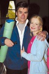 YIM Celebrity Ambassadors Leah Pinsent and Peter Keleghan