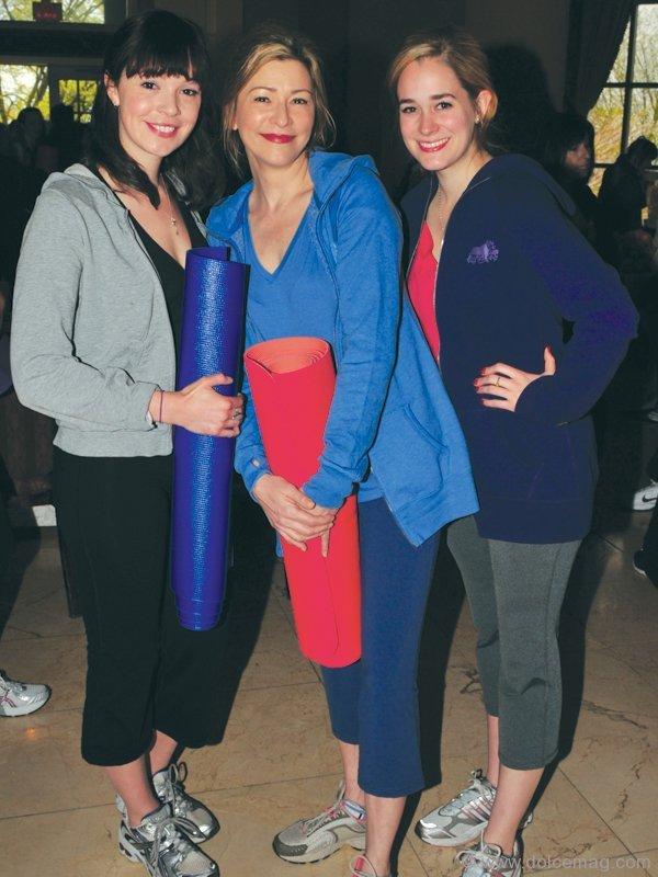 YIM Celebrity Ambassadors Rachel Wilson, Angela Asher, and Brittany Bristow.