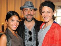 Actors Nazneen Contractor (CBC's The Border), Carlo Rota (Little Mosque on the Prairie, 24 ) and Natalie Brown (star of CBC's Sophie)