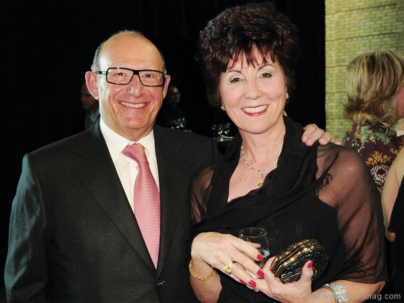 Entertainment sponsor Ed Sonshine (president and CEO of RioCan), with his wife, Fran
