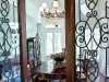 Wrought iron French doors and arched skylight windows combine with the finest European urnishings, capturing a cultural experience and the heart of elegance.