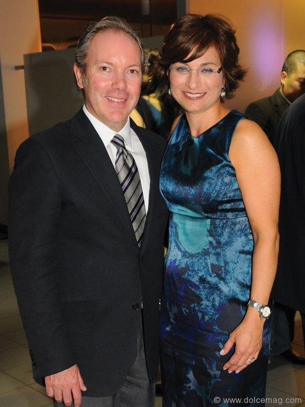 Presenting Sponsor Senator Homes' VP Paul Breda and Susan Sellan.