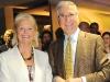 Linda Goldsack and Dr. Tirone David
