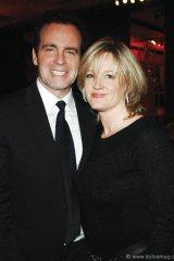 Rod Black, CTV and TSN sportscaster and emcee of the gala with wife, Nancy.