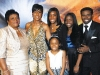 "Anna Marie Bryant (Michael Clemons' mother), Diane Lee-Clemons, Rachel, Rylie, Raven and Michael ""Pinball"" Clemons."
