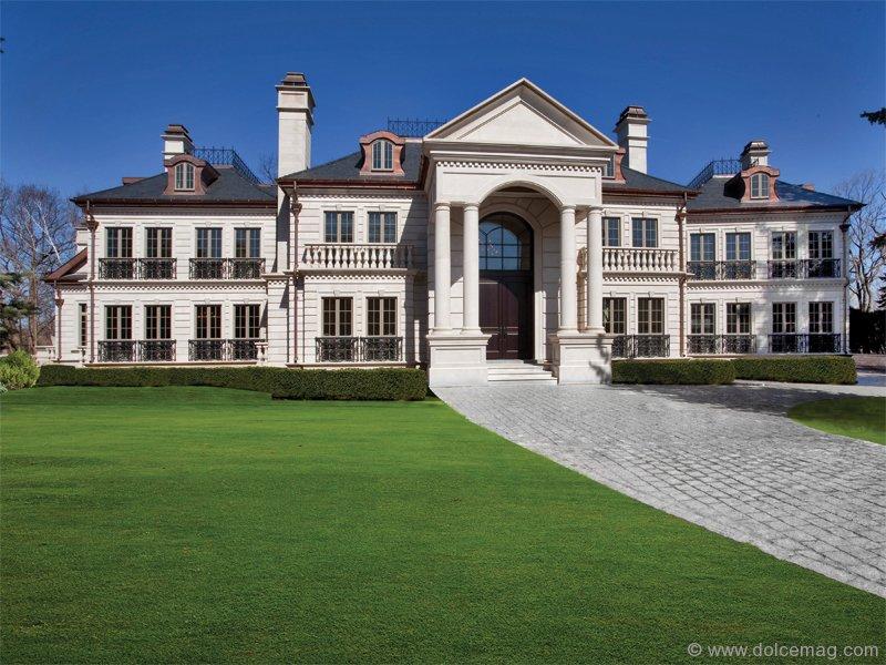 Ambassador fine custom homes saxony manor dolce luxury for Saxony homes