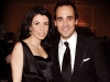 David Rocco's Dolce Vita host David Rocco with wife, Nina.