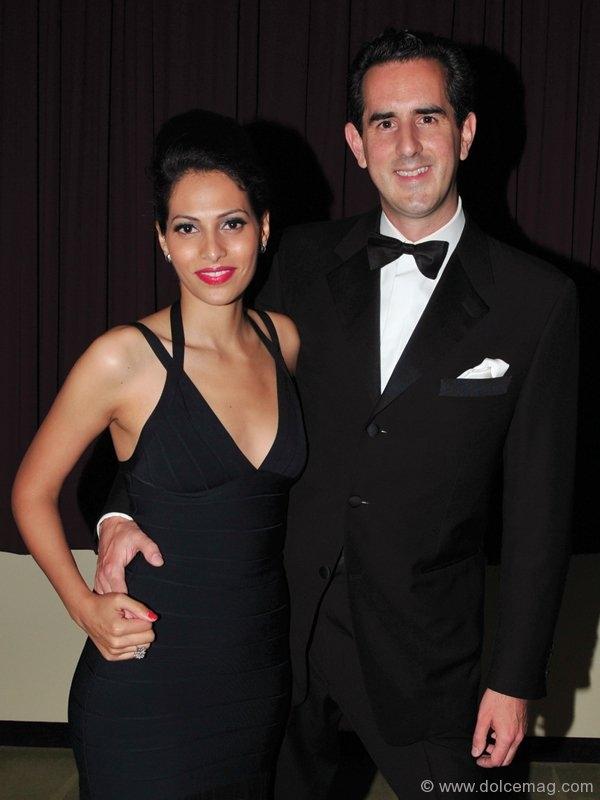 Rochelle De Goias with Event Co-Chair Duncan Jackman.