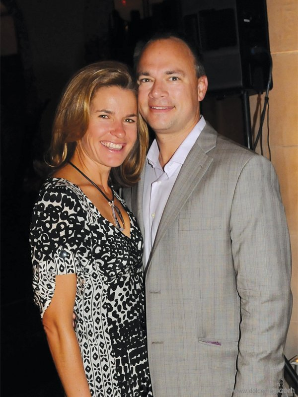 Kevin Barnes (President, GMP Investment Management) and his wife, Julie
