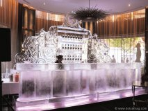 Russian Standard Vodka goes all out with a high-flying ice bar.