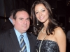 Miss Universe Canada Director Denis Davila with Miss Universe Canada, Mariana Valente.