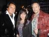 Roustam Tariko with supervising producer of ET Canada Leslie Wasserman and Brett Wilson of CBC's Dragon's Den.