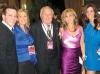 PJ Mercanti, Gabriella Mercanti, Ron Joyce, Daniella Mercanti-Mulas and Diana Morosin; Hon. Lincoln Alexander