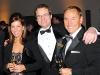 Kara Wood, Stewart Borden (Partner BWI) Patrick Wood (VP CIBC Wood Gundy)