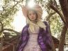 Hat - Gladys Tamez Millinery | Coat - Ellie Mae Studios | Dress - Atelier le lis by Helo Rocha